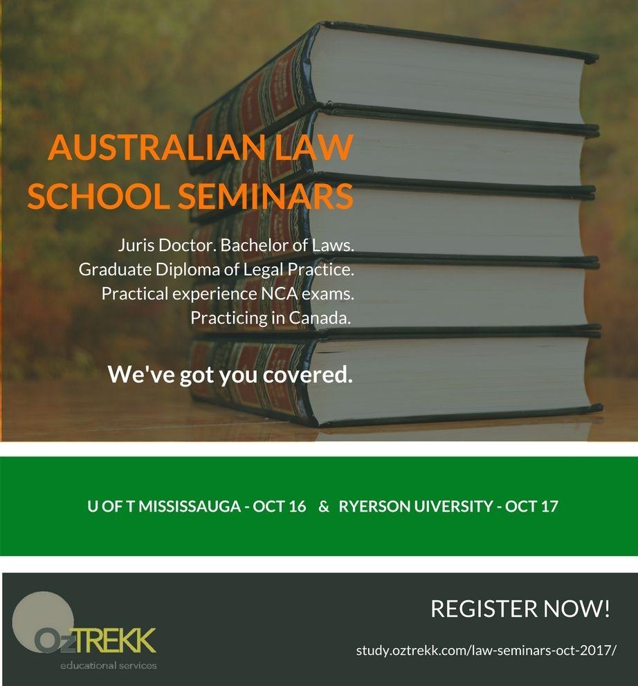 Australian Law Schools Seminars Law School Law School
