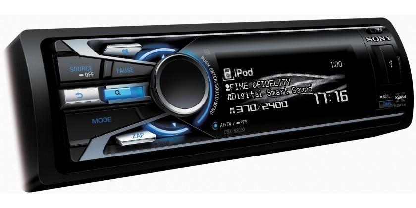 Sony S200x Ipod Iphone Digital Media Car Stereo Tech Rhpinterest: Sony Dsx S200x Wiring Diagram At Gmaili.net