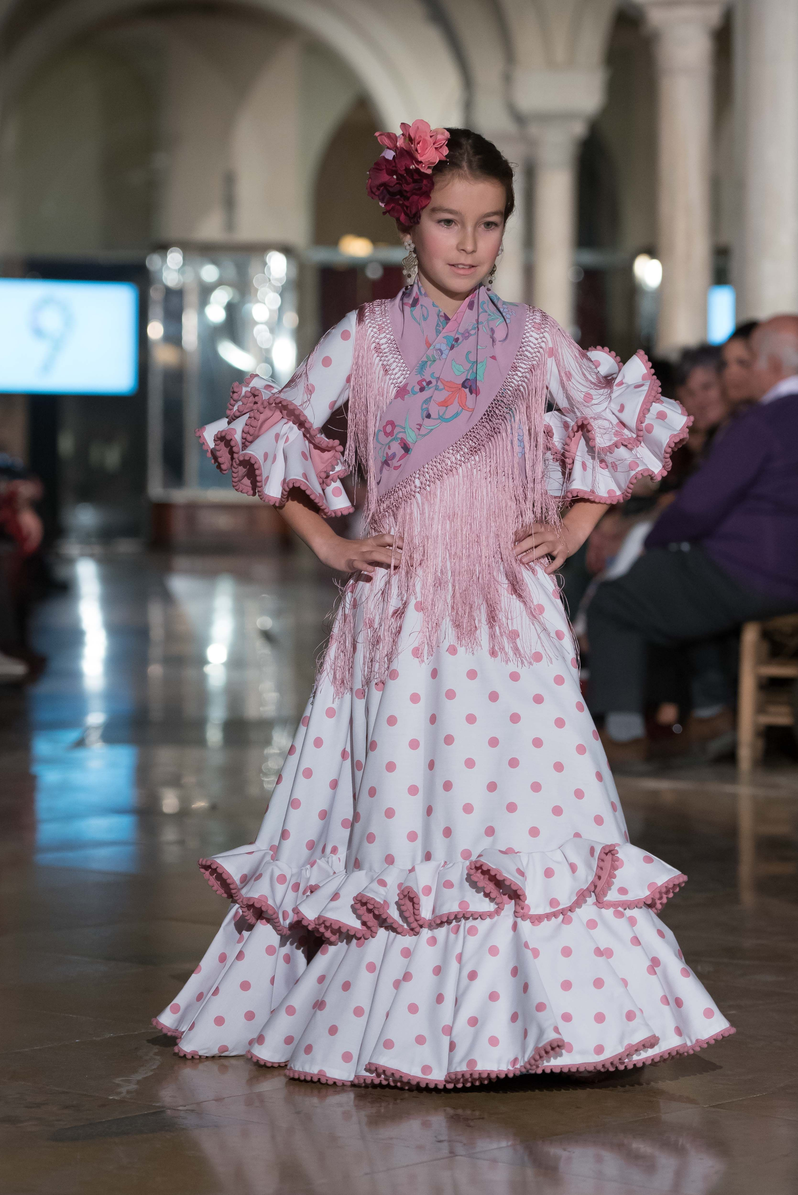 bbe8aad252 Nueve - We Love Flamenco 2018 - Sevilla Vestido Flamenco Niña