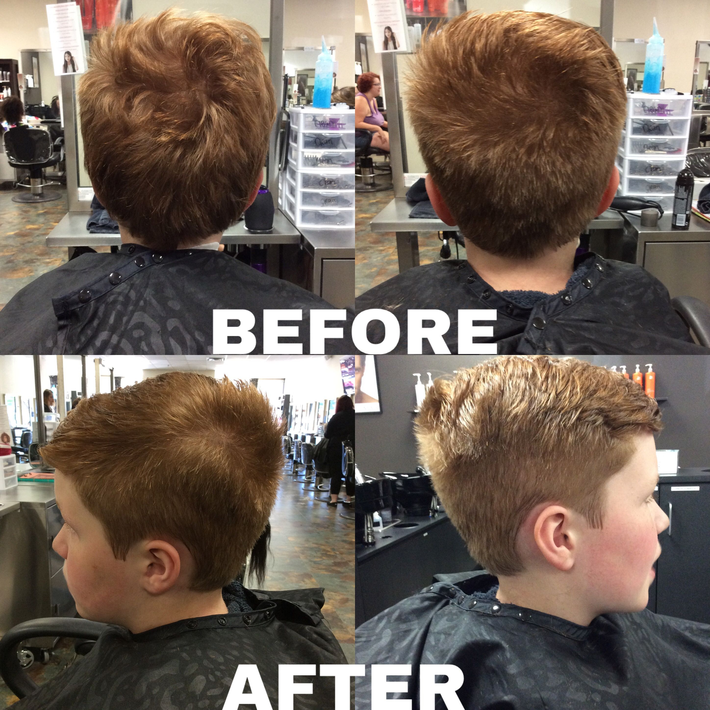 I Performed A Kids Haircut Using A 2 Guard On The Back And Sides
