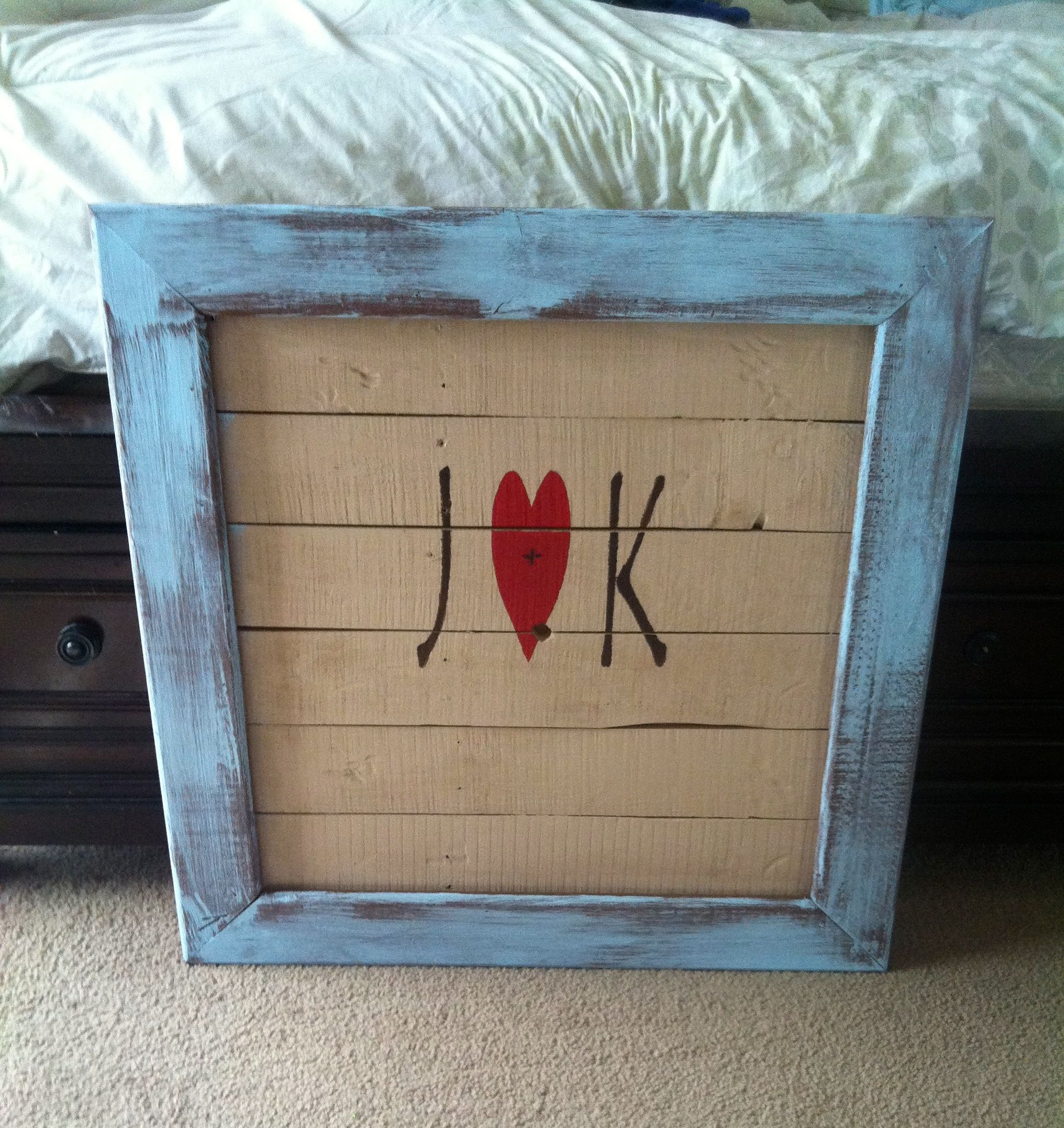 Custom order for over their bed!