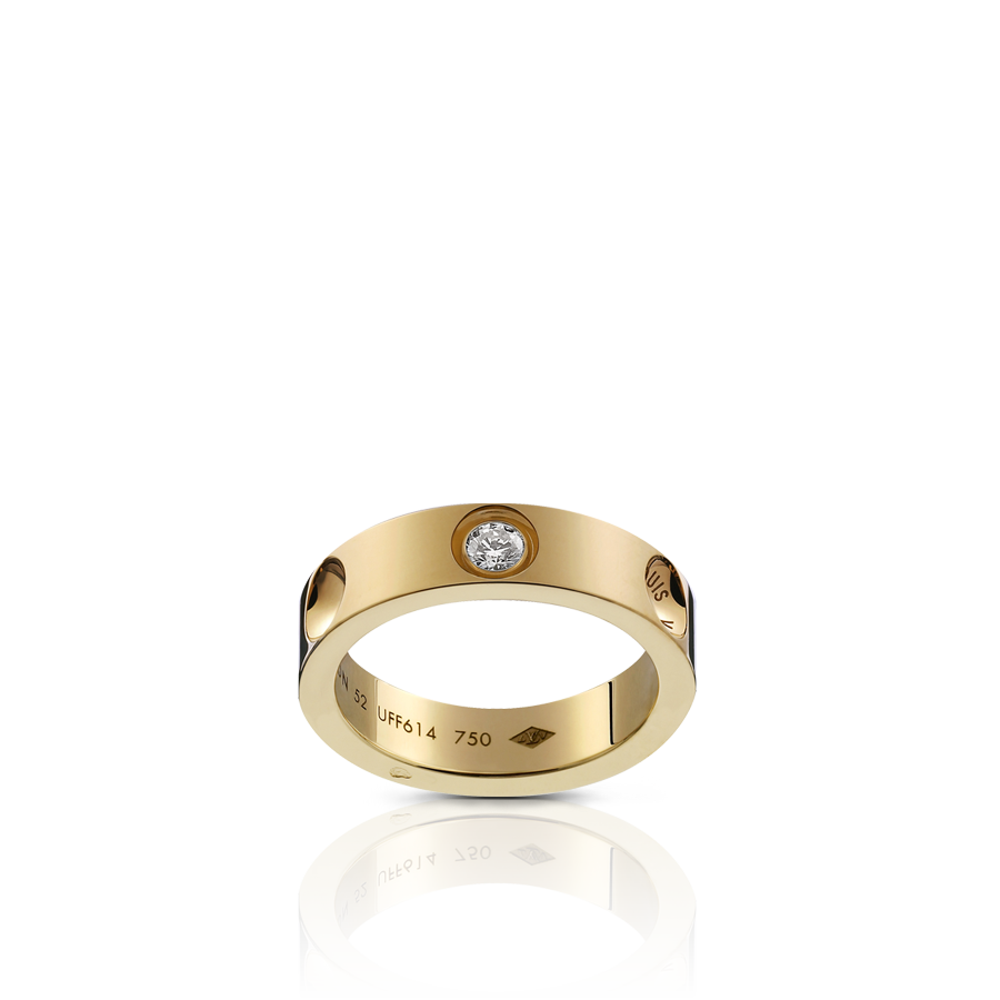 Mens Wedding Band Http Www Louisvuitton Front Eng Us Collections Men Fine Jewelry Products Small Empreinte Ring Yellow Gold And Diamond Q9a04a