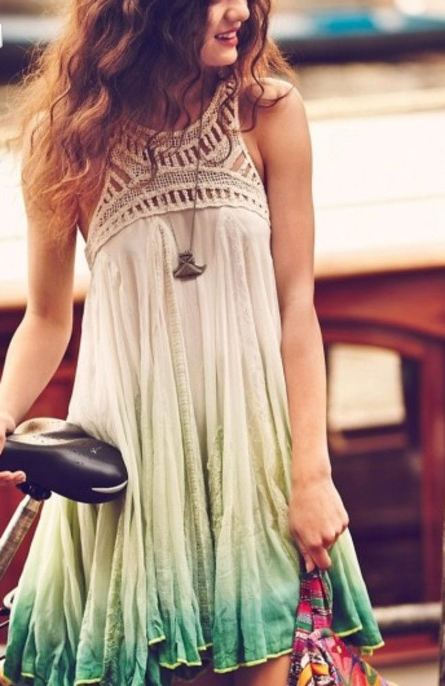 Ombre - love this little summer number! find more women fashion ideas on www.misspool.com