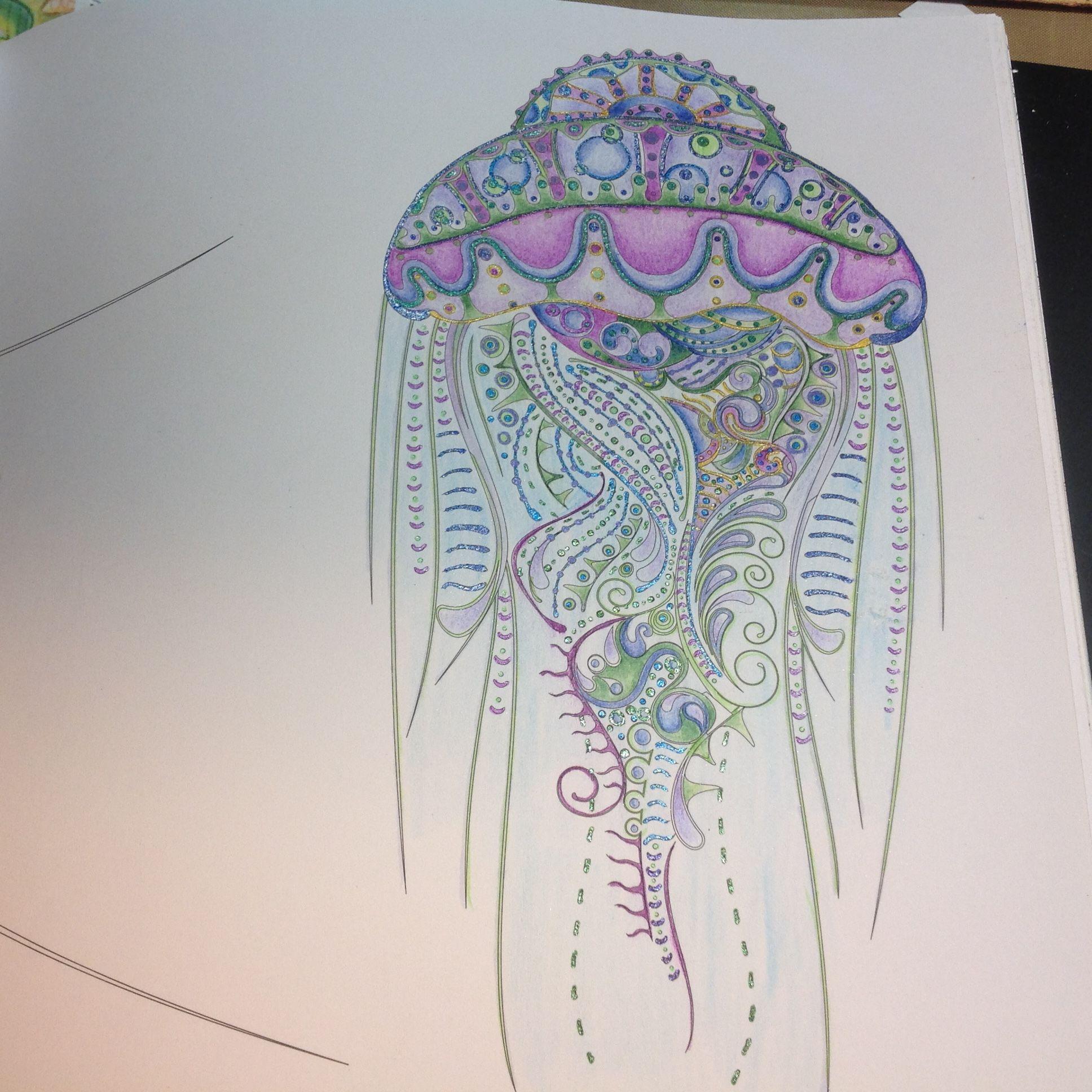 Stress free coloring book - Anti Stress Free Coloring Book Explore Free Coloring Coloring Books And More Jellyfish From Atlantis