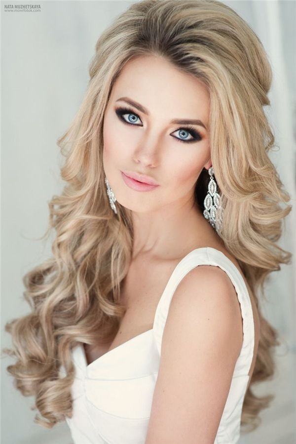 hairstyles down for wedding. top 20 down wedding hairstyles for long hair p