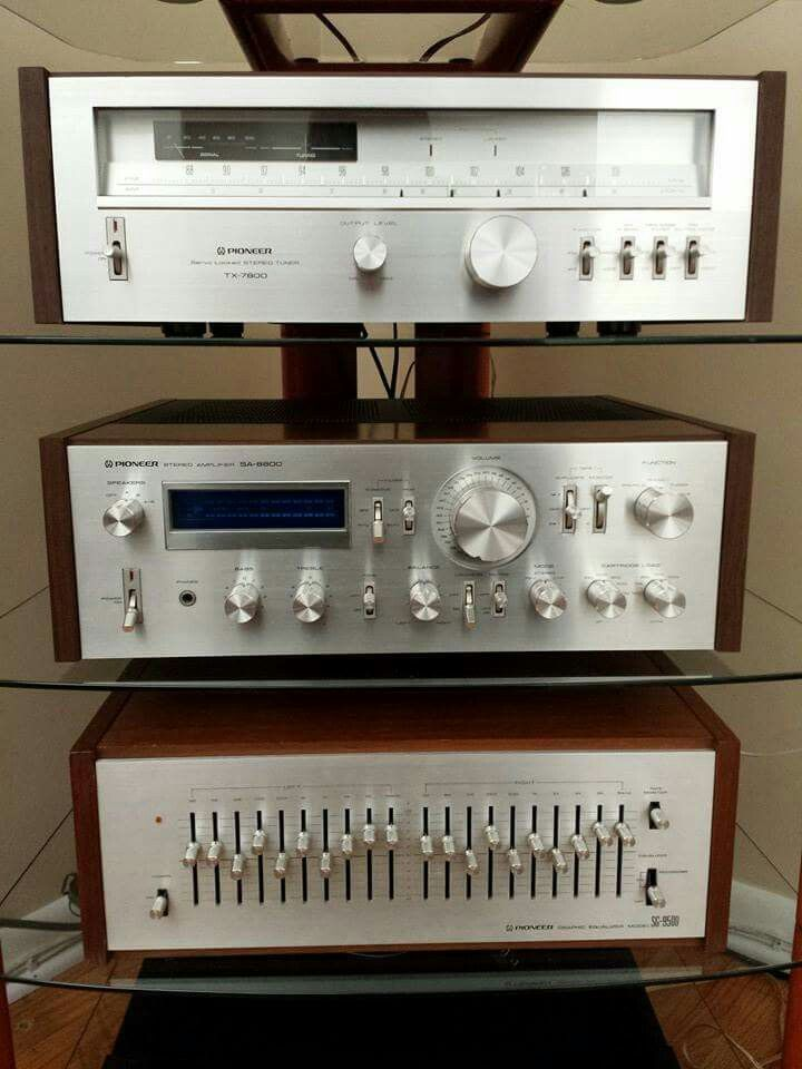 Pioneer Loved Their Graphic Equalizers Stereo
