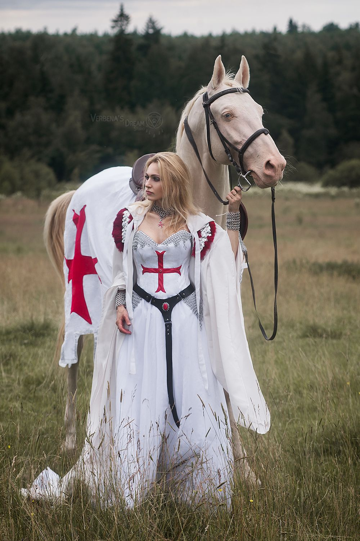 tempar knight princess medieva queen armor horse (с ...