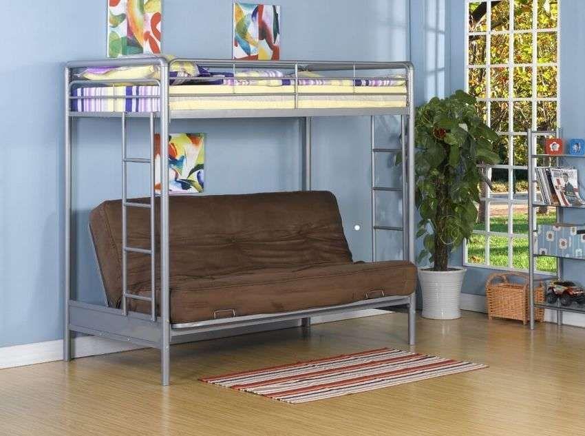 Кровать чердак с диваном 100 фото | Двухъярусные кровати ...