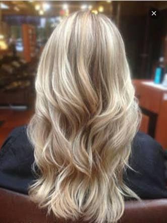 Blonde highlights tumblr