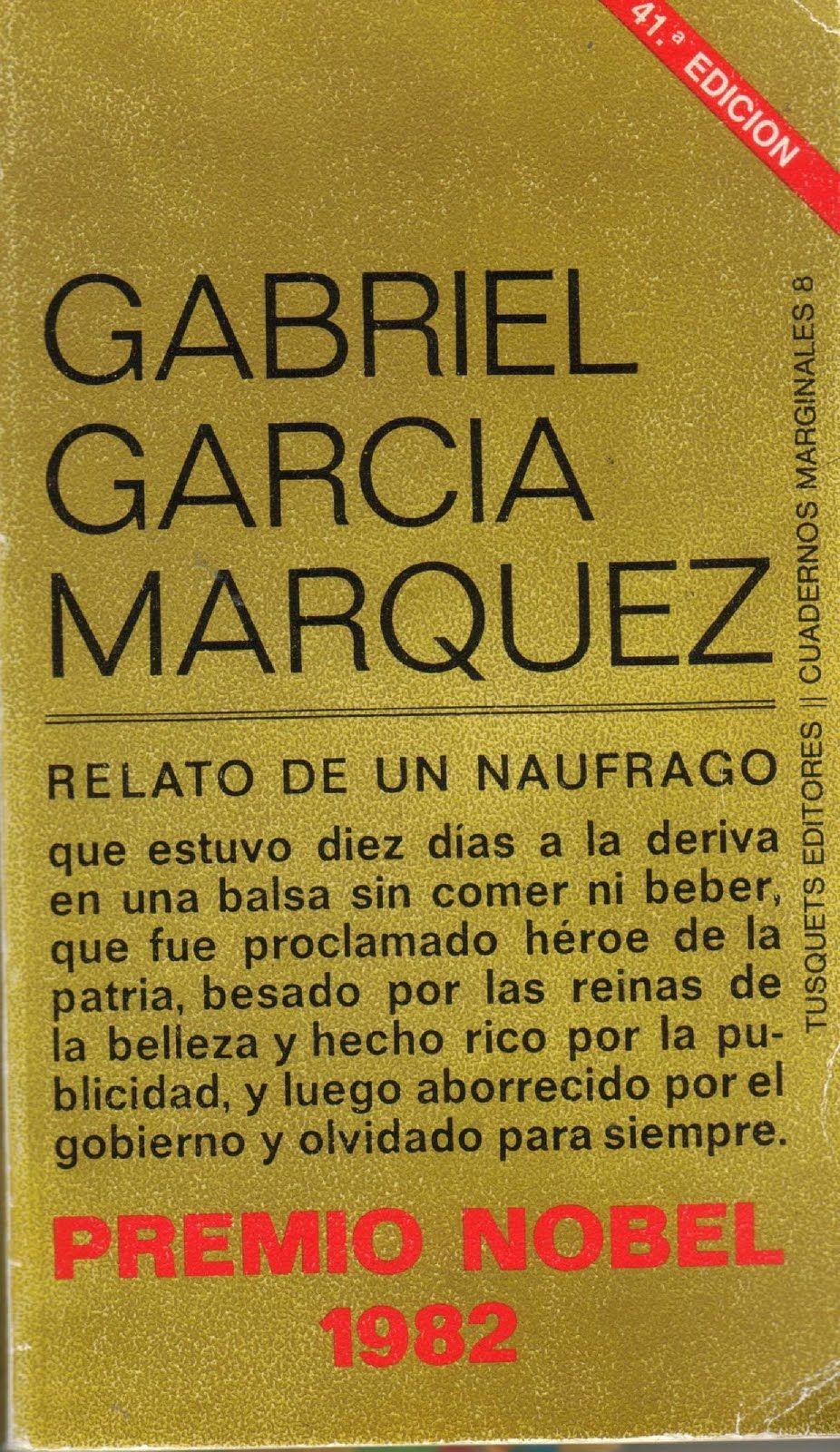 Relato De Un Náufrago Book Writer Book Worth Reading Books