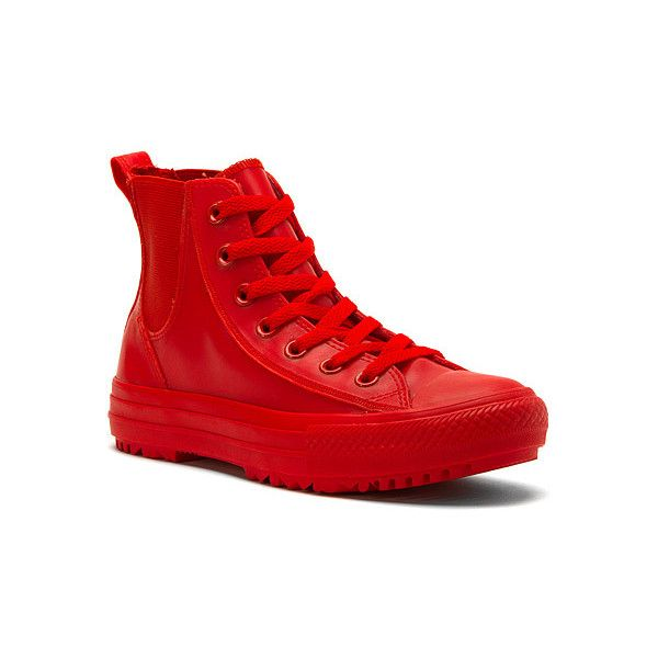Converse Chuck Taylor All Star Chelsee Translucent Rubber Boots ( 80) ❤  liked on Polyvore featuring shoes be2687f88