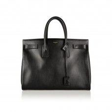 Fashion Investment Pieces That Are Totally Worth the Money: Black Saint Laurent Sac de Jour Medium Leather Tote | coveteur.com