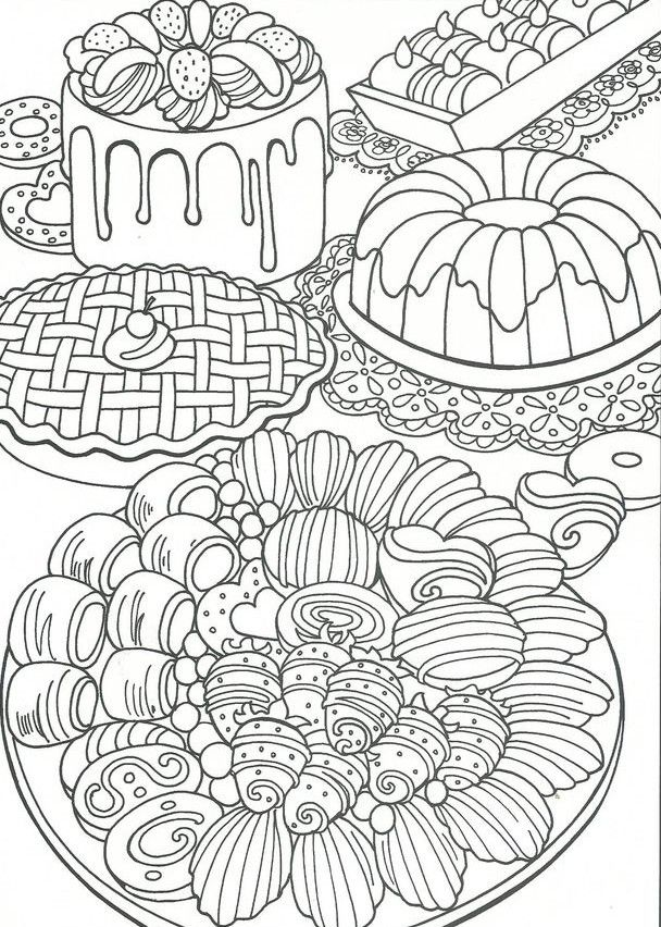 Gateaux Candy Coloring Pages Mandala Coloring Pages Cute Coloring Pages