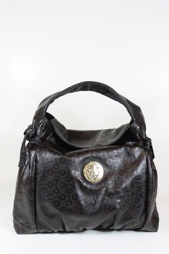 Gucci Handbags Brown Leather 286307 Clearance
