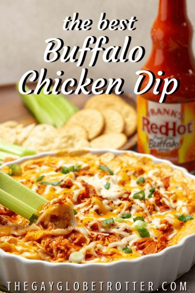 Franks Buffalo Chicken Dip