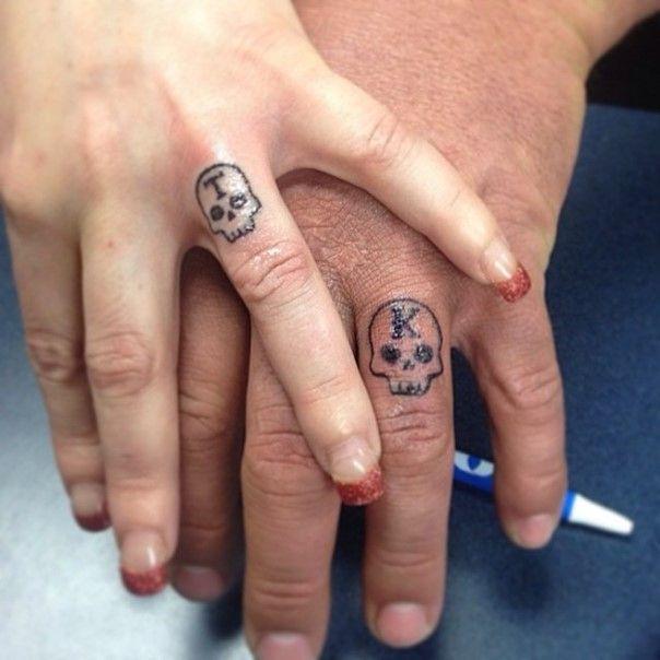 35 Sweet Simple Wedding Band Tattoos Ink Pinterest Ring