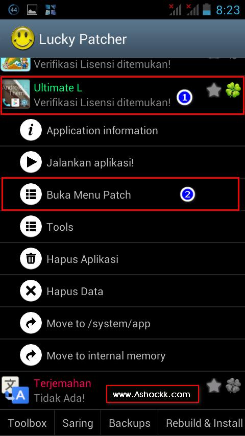 Cara Install Dan Gunakan Lucky Patcher Apk Aplikasi