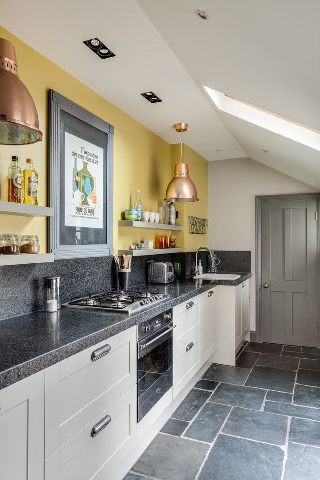 brilliant ideas of wall combination for light yellow yellow kitchen walls grey kitchens on kitchen remodel yellow walls id=63738