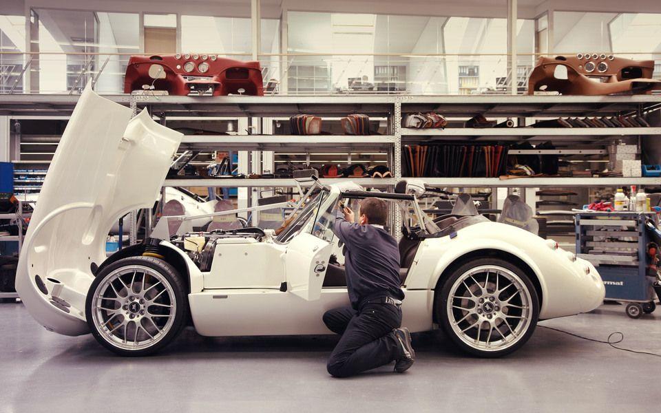 Wiesmann production. All handmade vehicles, each car