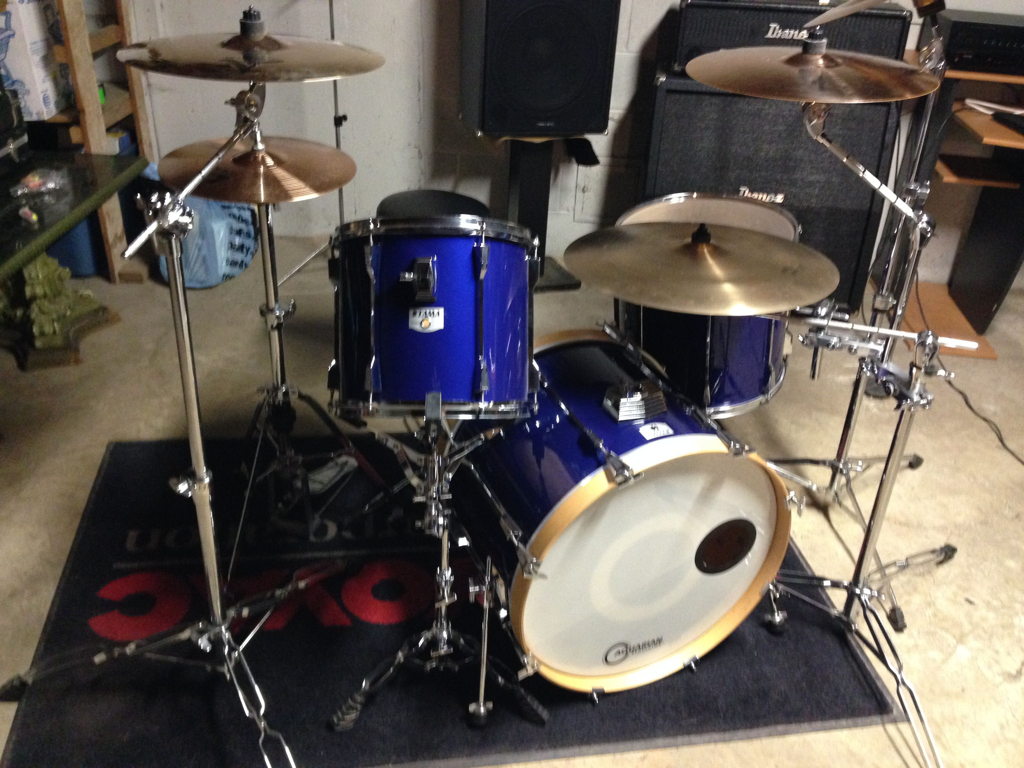 Bateria Musica Porno drum set/ minimal drum set/ paiste cymbals/sabian cymbals