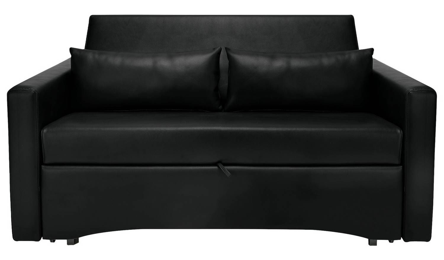 Buy Argos Home Reagan 2 Seater Faux Leather Sofa Bed Dark Brown Sofa Beds Argos Faux Leather Sofa Leather Sofa Bed Sofa Deals