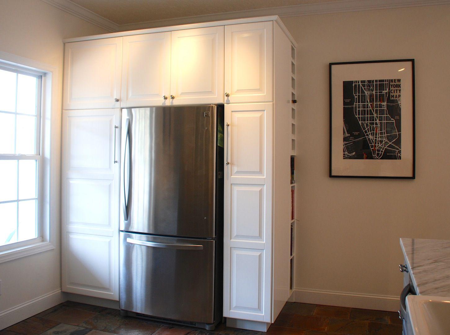 Best Ikea Lidingo White Pantry Surround With Ikea Hack Wine 400 x 300