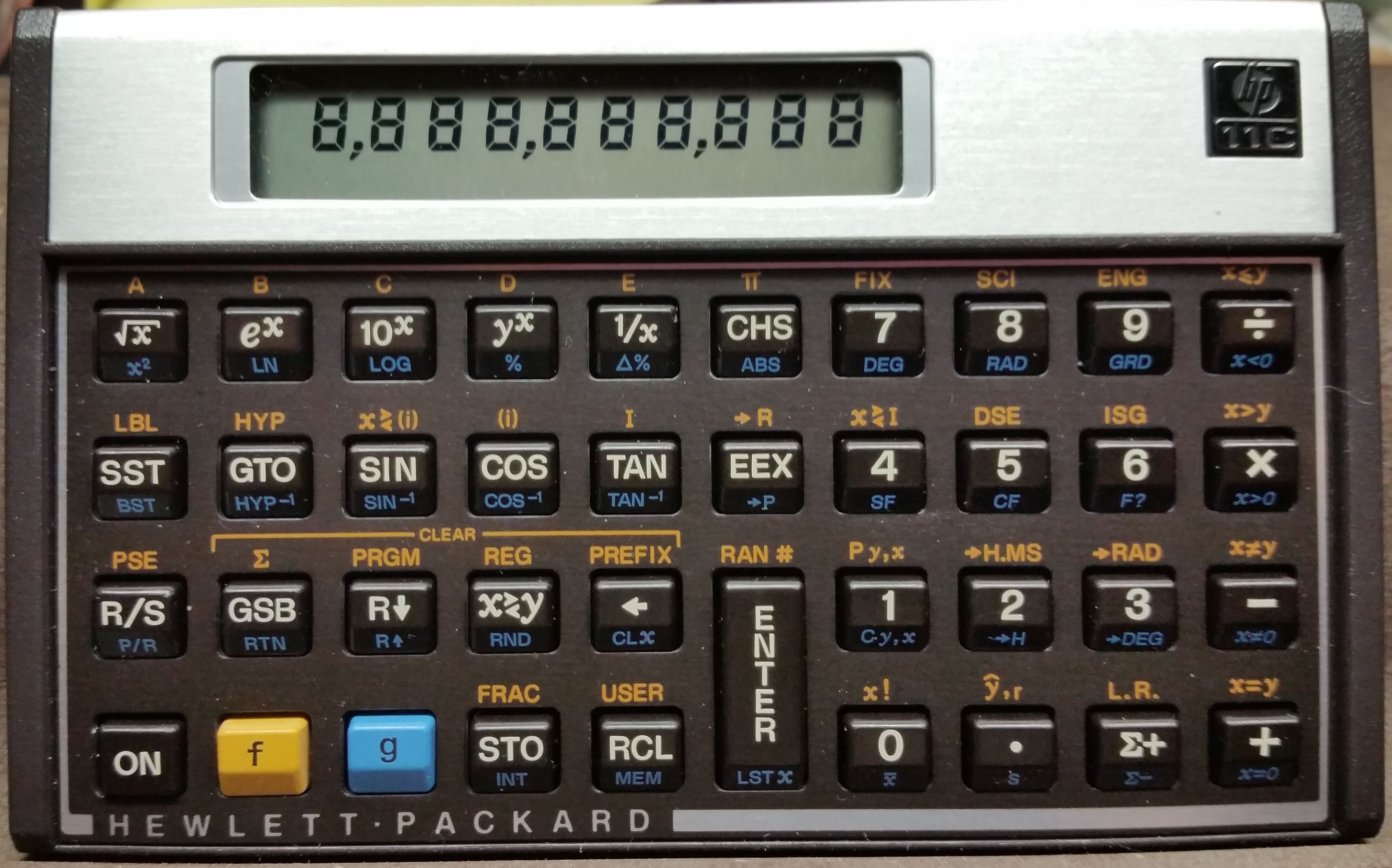 1981 HP Voyager HP-11C Calculator | My cool eBay stuff in