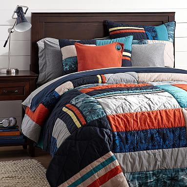 Bedroom Furniture Oahu oahu patch quilt sham #pbteen for chase queen $189.00 | house