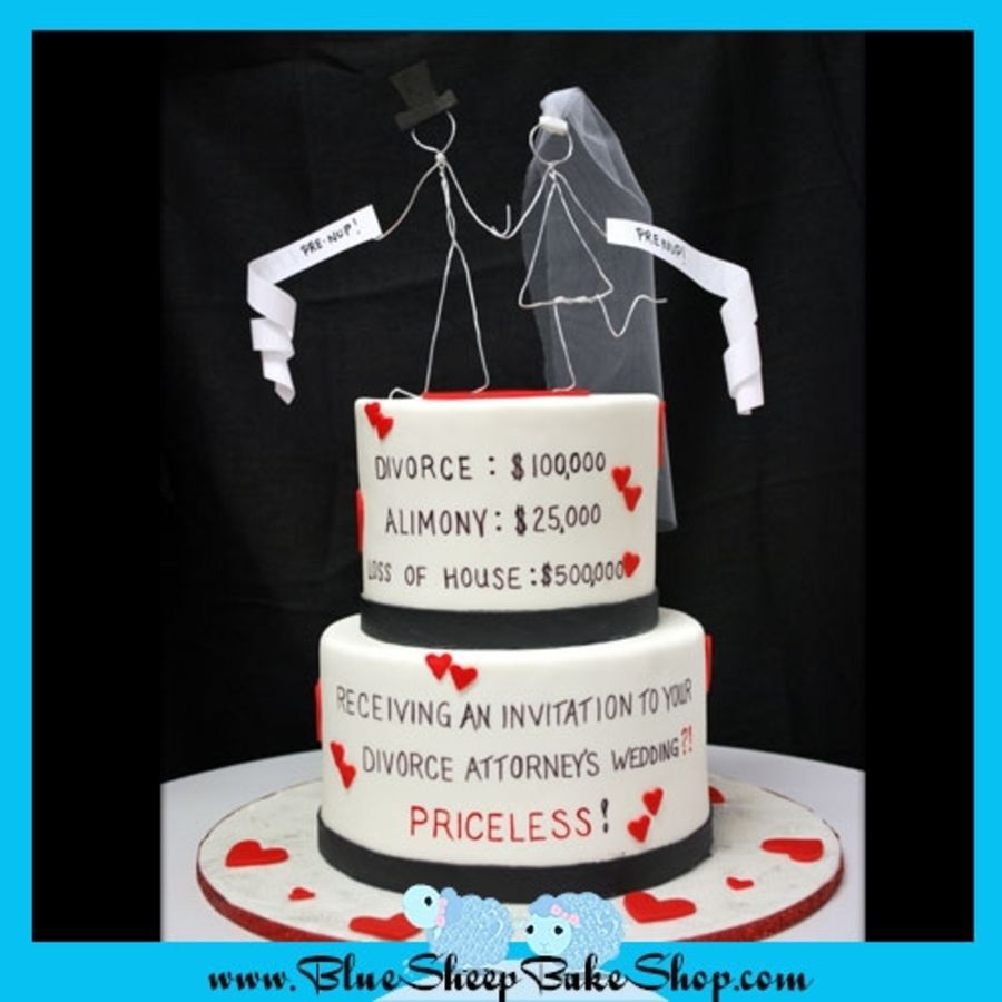 funny-cakes-celebrating-divorce-5 – Snappy Pixels … | Pinteres…
