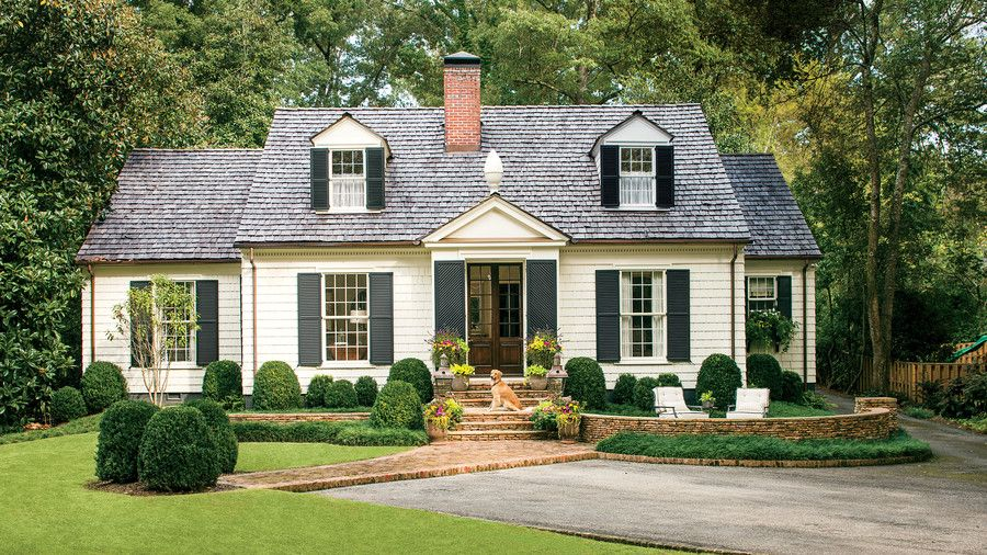 charming cottage curb appeal makeover 1930s architects and curb