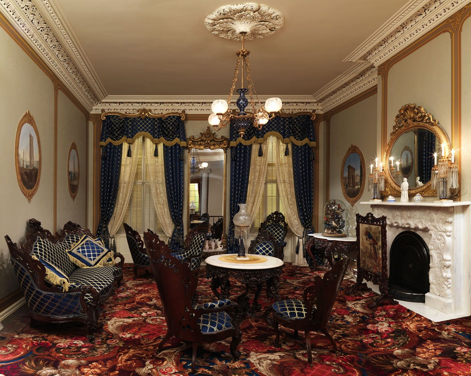 delightful Empire Style Interiors gallery