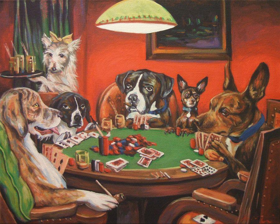 Poker Dogs By Wytrab8 Deviantart Com On Deviantart