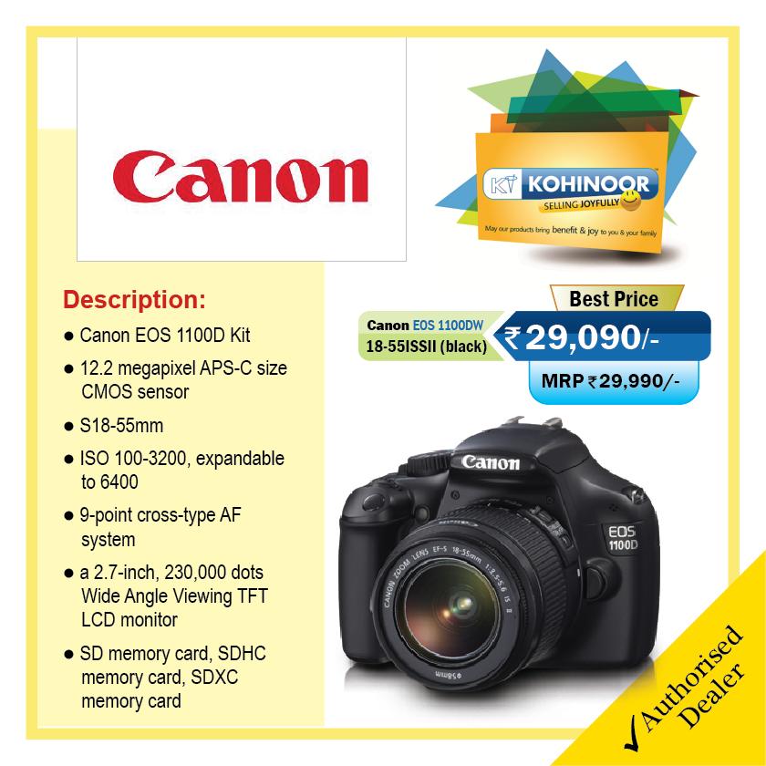 Canon EOS 1100D Kit #Canon #DSLR #Photography #Camera | Canon ...