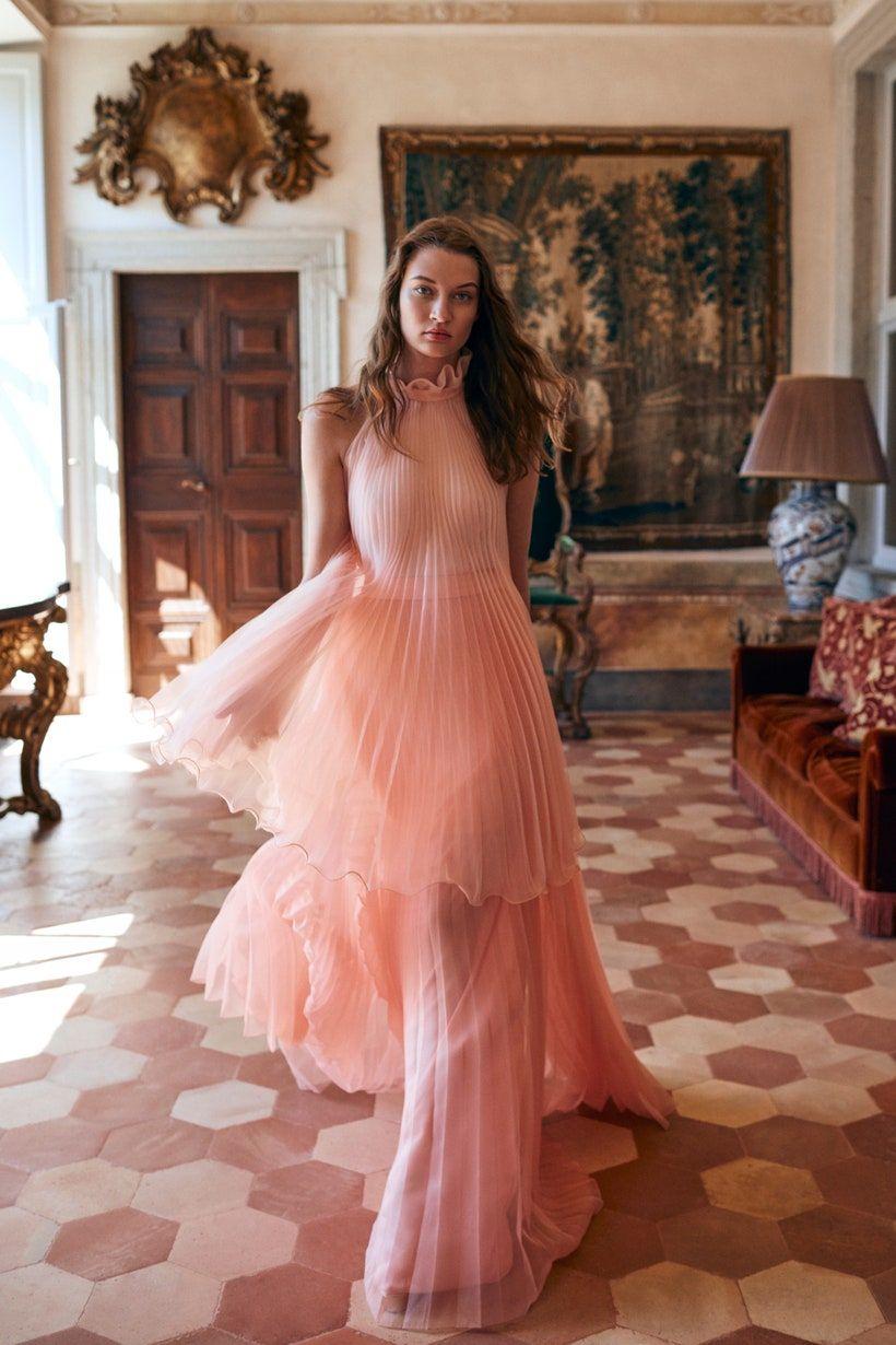 Monique Lhuillier Spring 2020 Ready-to-Wear Fashion Show -   15 dress Coctel monique lhuillier ideas