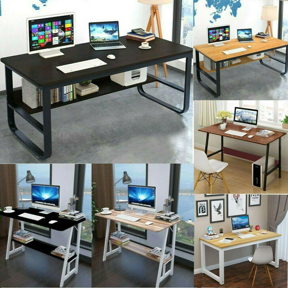 - Modern Computer Table Study Writing Desk PC Laptop Workstation