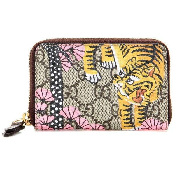 wholesale dealer 78a22 5d884 Gucci Gucci Bengal Card Case (1,135 ILS) ❤ liked on Polyvore ...