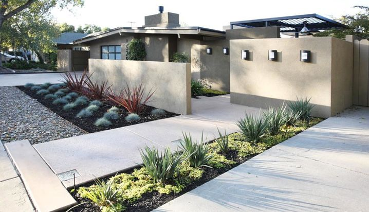 Modern Landscapes That Will Make You Rethink Curb Appeal #modernfrontyard