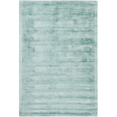 """Chandra Gelco Hand-Woven Teal Area Rug Rug Size: 7'9"""" x 10'6"""""""