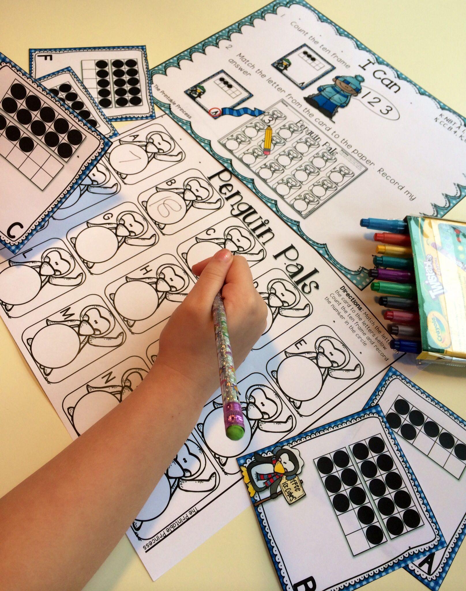 Winter Activities And Centers For Kindergarten With