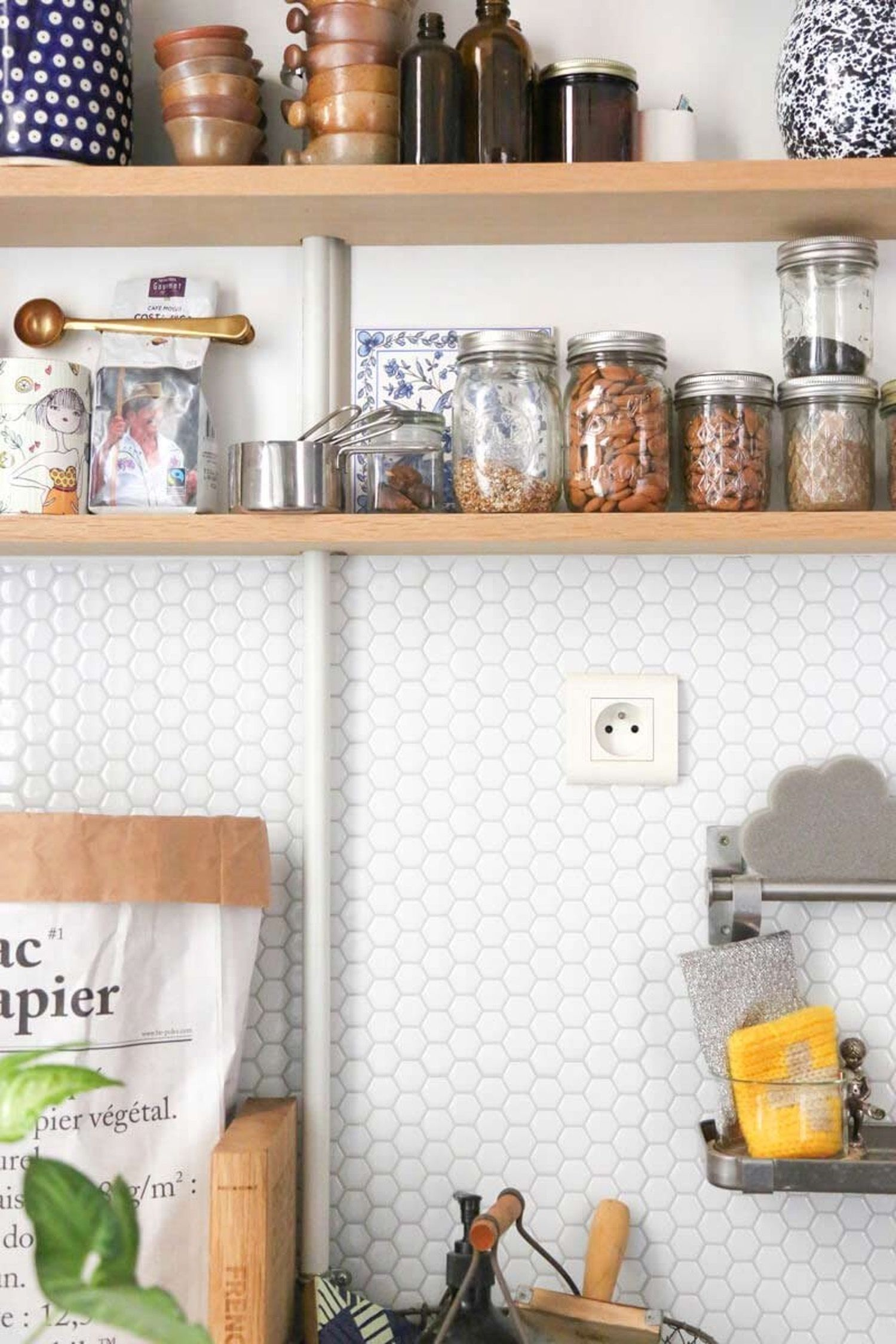 Peel and stick tile backsplash ideas backsplash ideas subway removable peel and stick subway tile the kind you can install over your existing tile in an afternoon without any special tools or tricks dailygadgetfo Choice Image