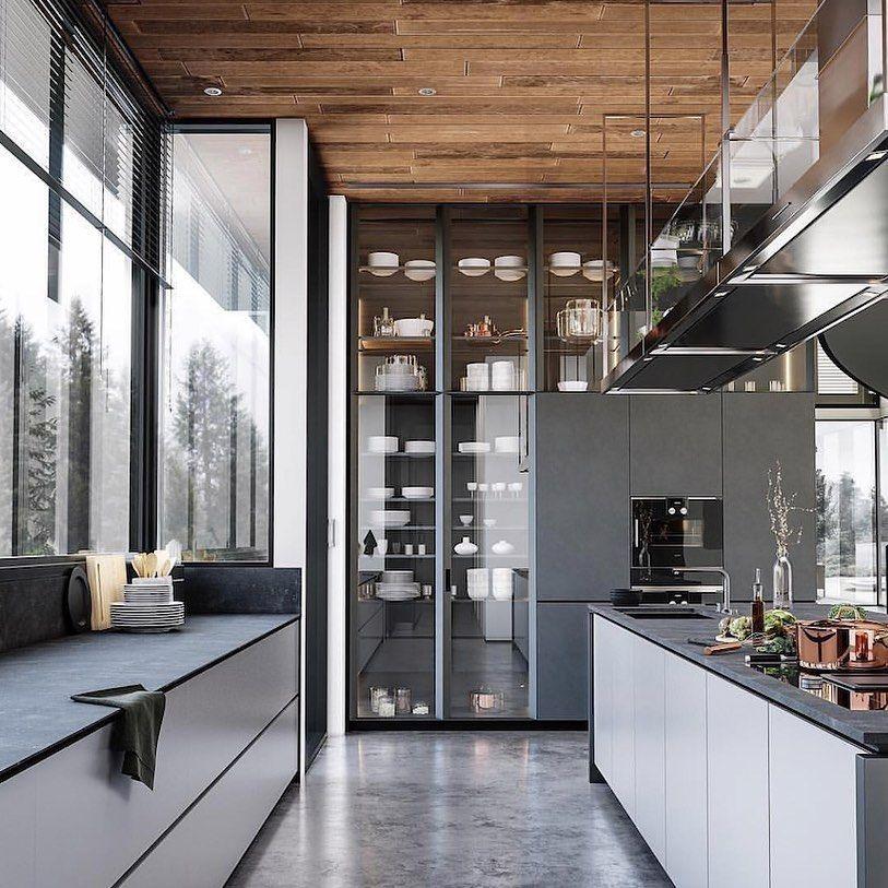"""UNTITLED Design on Instagram: """"Dream kitchen.       #interiordesign #design #decor #creativeliving #artfullliving #modernspace #designerspace #contemporarydesign…"""""""