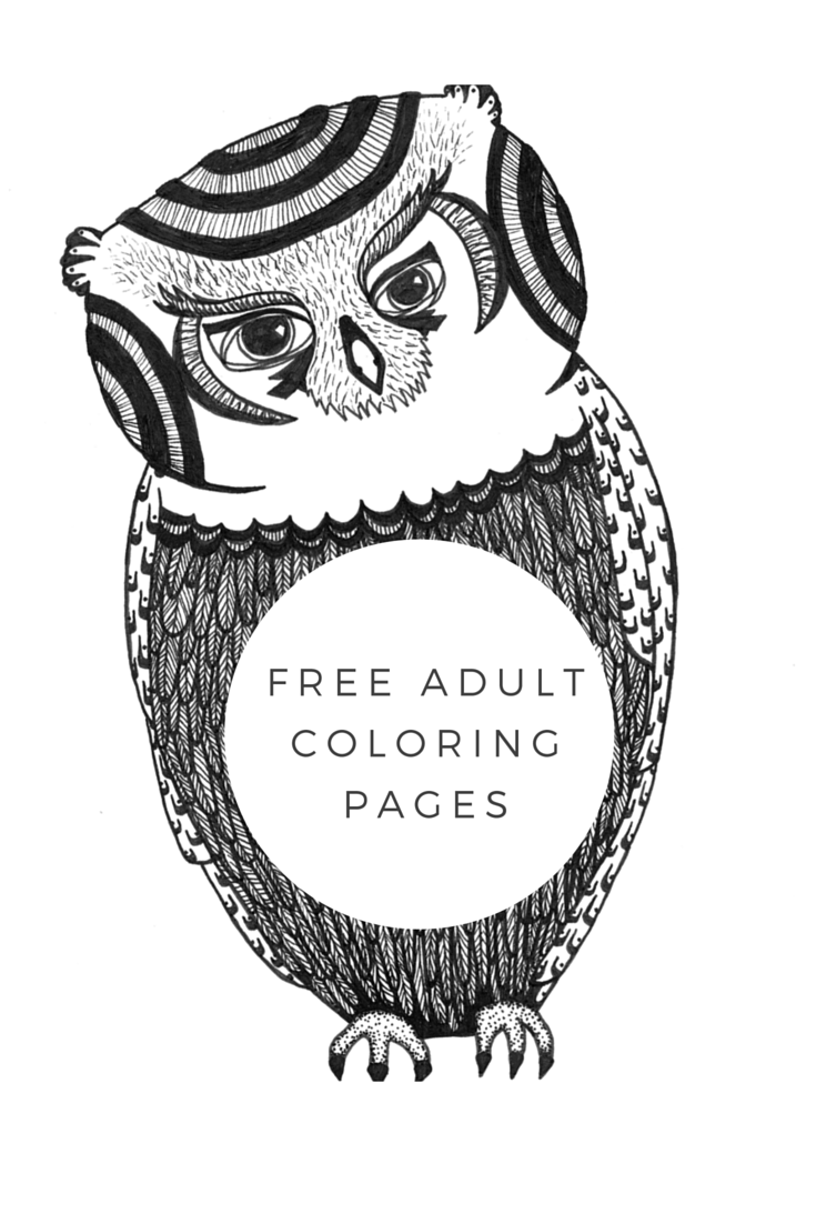 - Free Adult Coloring Book Pages By Blue Star Coloring Books! Free