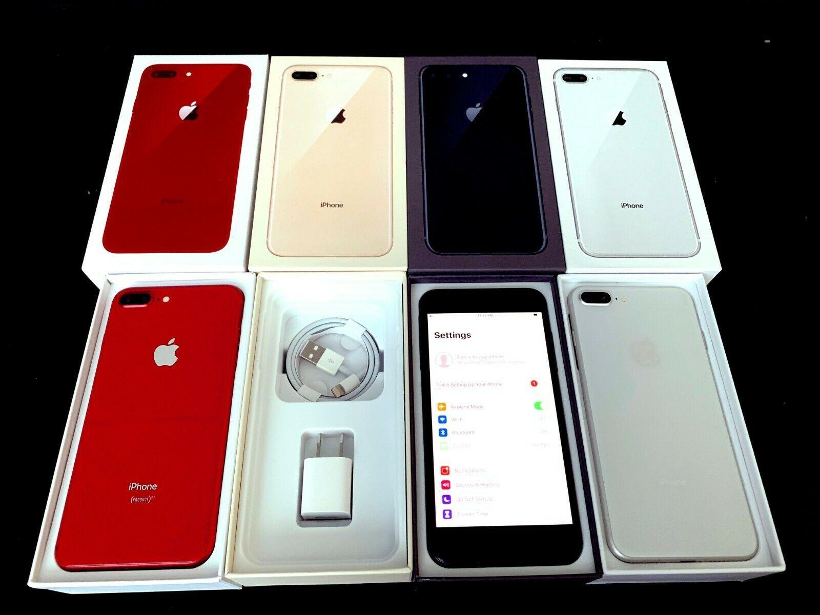 NEW UNUSED Factory UNLOCKED iPHONE 8 Plus + 64GB Sprint AT