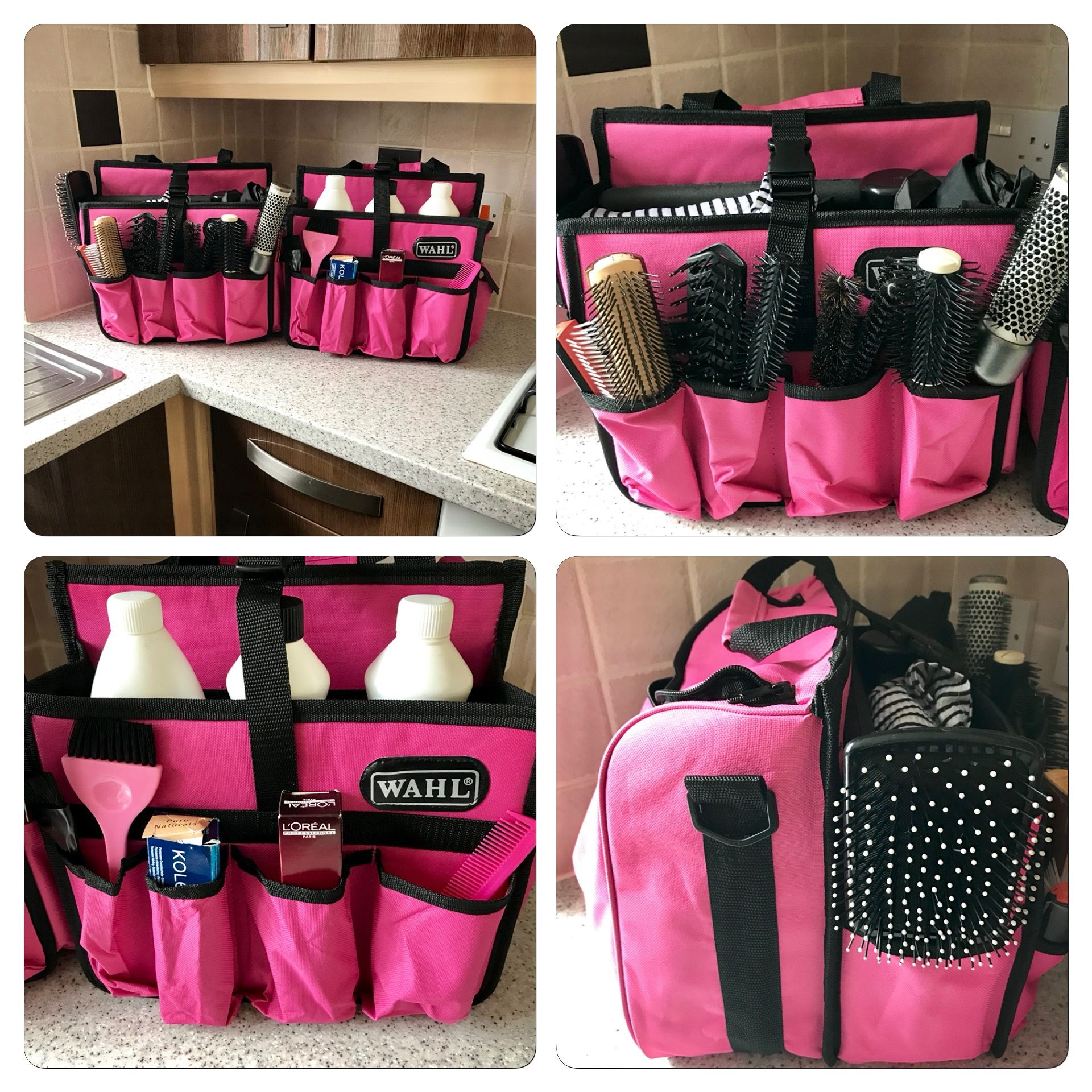 Hairdressing Bag Tinting Love My New Work Bags Lots Of Room For All