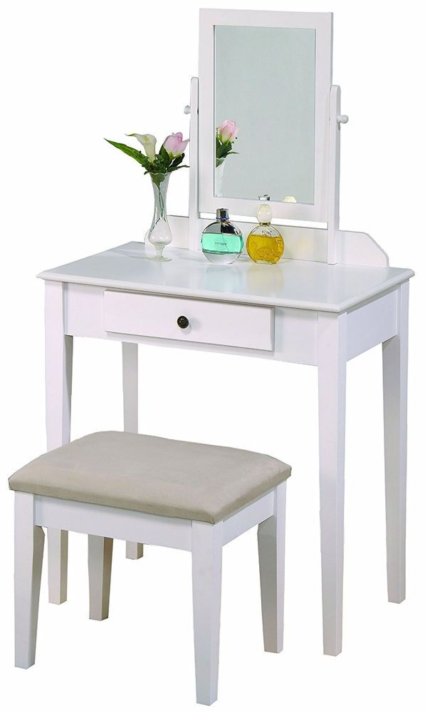 Super Details About Dressing Table Vanity Set Makeup Desk Table Gmtry Best Dining Table And Chair Ideas Images Gmtryco