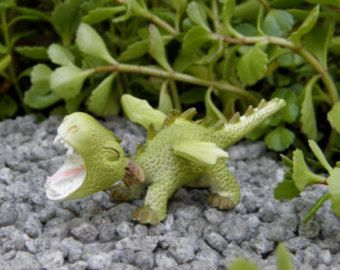 Relaxful Miniature Dollhouse FAIRY GARDEN Accessories Dragon