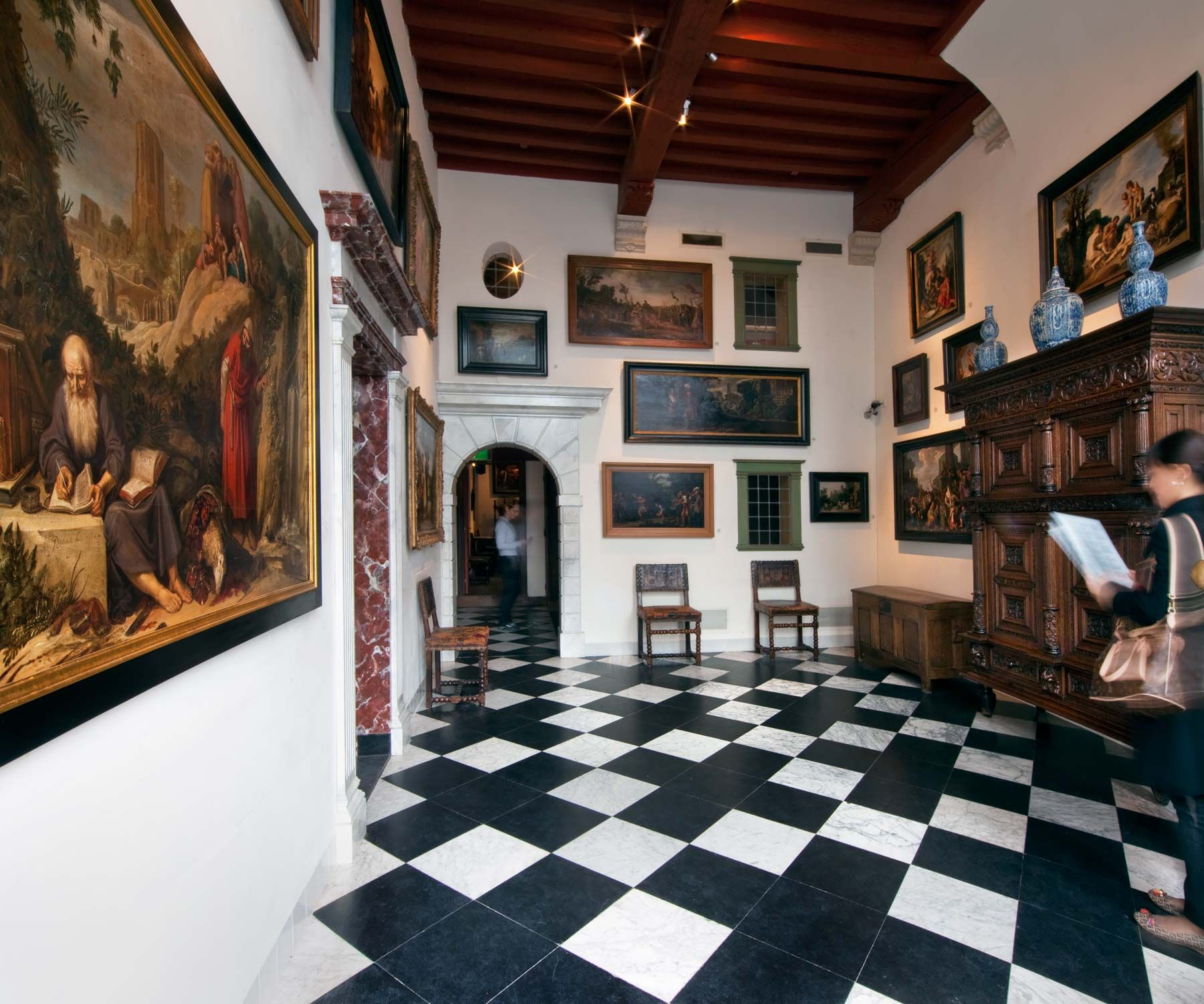 Rembrandt 39 s house is also his best art gallery museum for Museum amsterdam