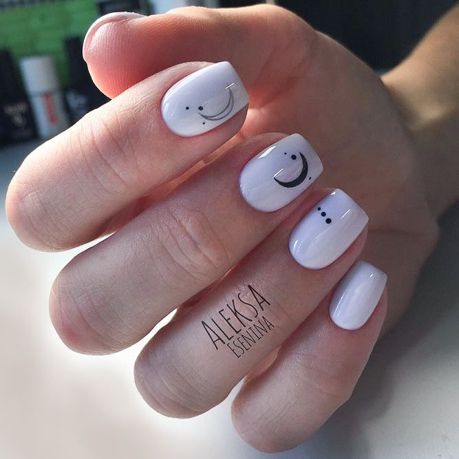 Manis That Will Make You Adore Squoval Nails See More Https