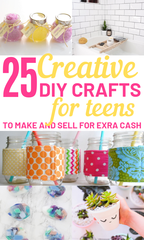 Hot Craft Ideas to Sell - 30+ Crafts To Make And Sell From Home #craftstosell