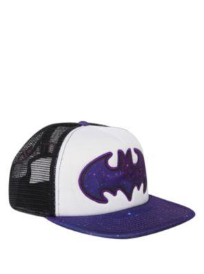 DC Comics Batman Galaxy Logo Snapback Trucker Hat  73f237a216c